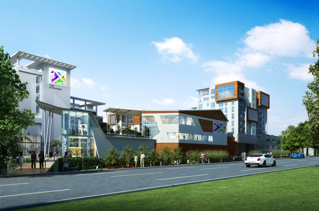 Development: The Exchange, Accra - Ghana