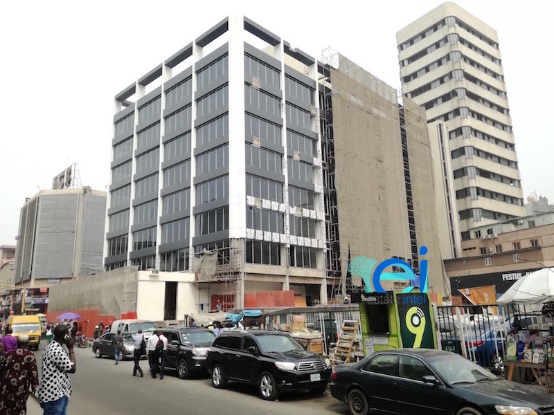 January 2018. Updated - Development: Raymond House, Broad Street, Lagos Island - Lagos
