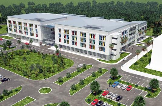 Development: Ibom Specialist Hospital, Itam, Uyo - Akwa Ibom. Image Source: NAIRDA