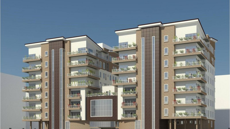 Development: Oakwood Residences, Cooper/Femi Okunnu Road, Ikoyi - Lagos. Image Source - Fine and Country