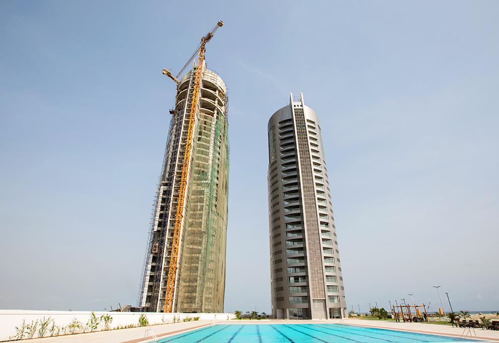 An Inside Look: Black Pearl Tower - Eko Pearl Towers, Eko Atlantic City, Lagos. Image Source: Eko Pearl Towers