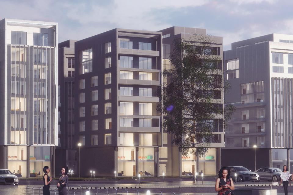 Development: Ilubirin, Lagos Island, Lagos. Image Source: LASG