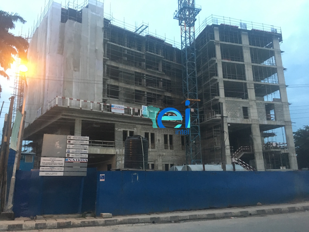 October 2017. Development: Hotel Project, Corner of Ojora and Onitolo Road, Ikoyi - Lagos.