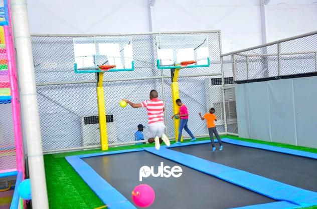 Development: Upbeat Recreation Centre, Admiralty Road, Lekki Phase 1 - Lagos. Source: pulse.ng