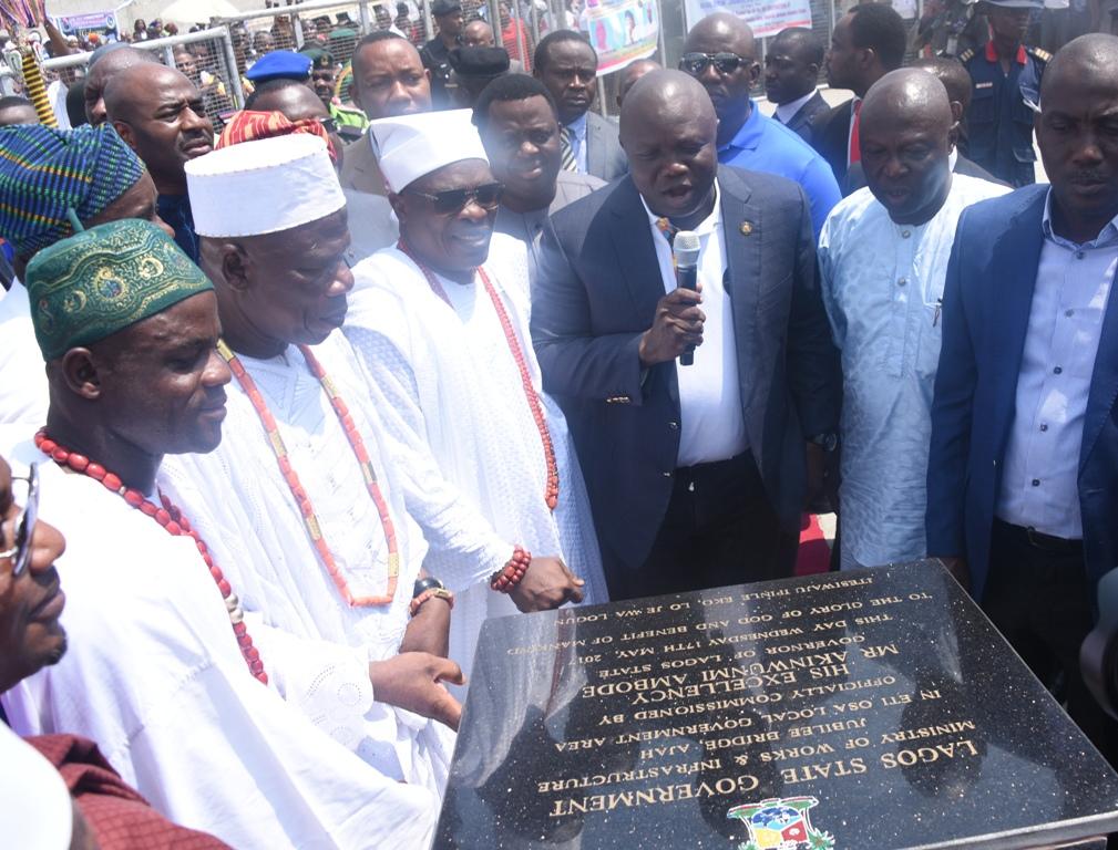 Ajah Flyover Bridge. Image Source: Lagos State