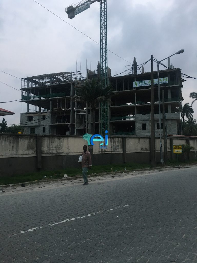 August 2017. Development: Onikoyi/Turnbull Residential Development, Turnbull Road, Ikoyi - Lagos