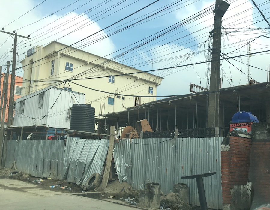 July 2016. Development: 5 Floor Office Development, Awolowo Road, Ikoyi