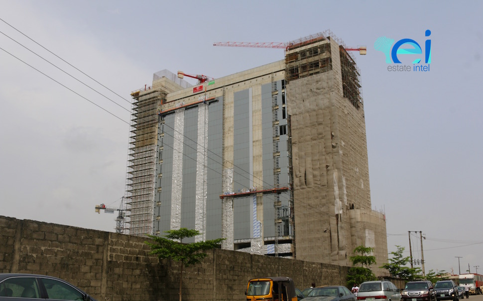 October 2017. Diamond Bank Office Development, Victoria Island Annex (Oniru), Lagos - Nigeria