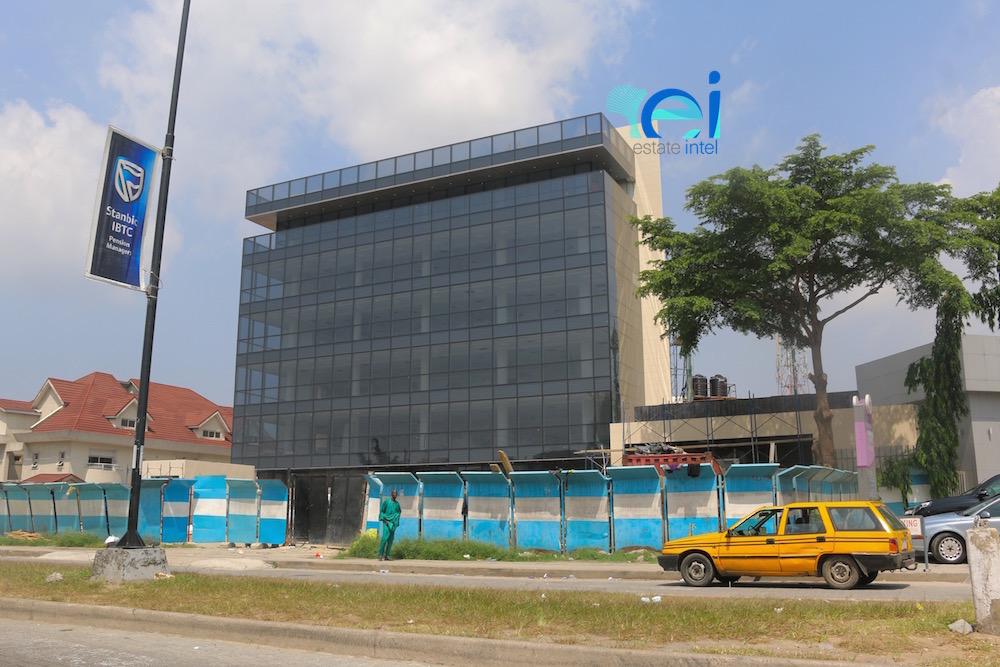 November 2017. Development: 5 Floor Office Project, Admiralty Way - Lekki Phase 1.
