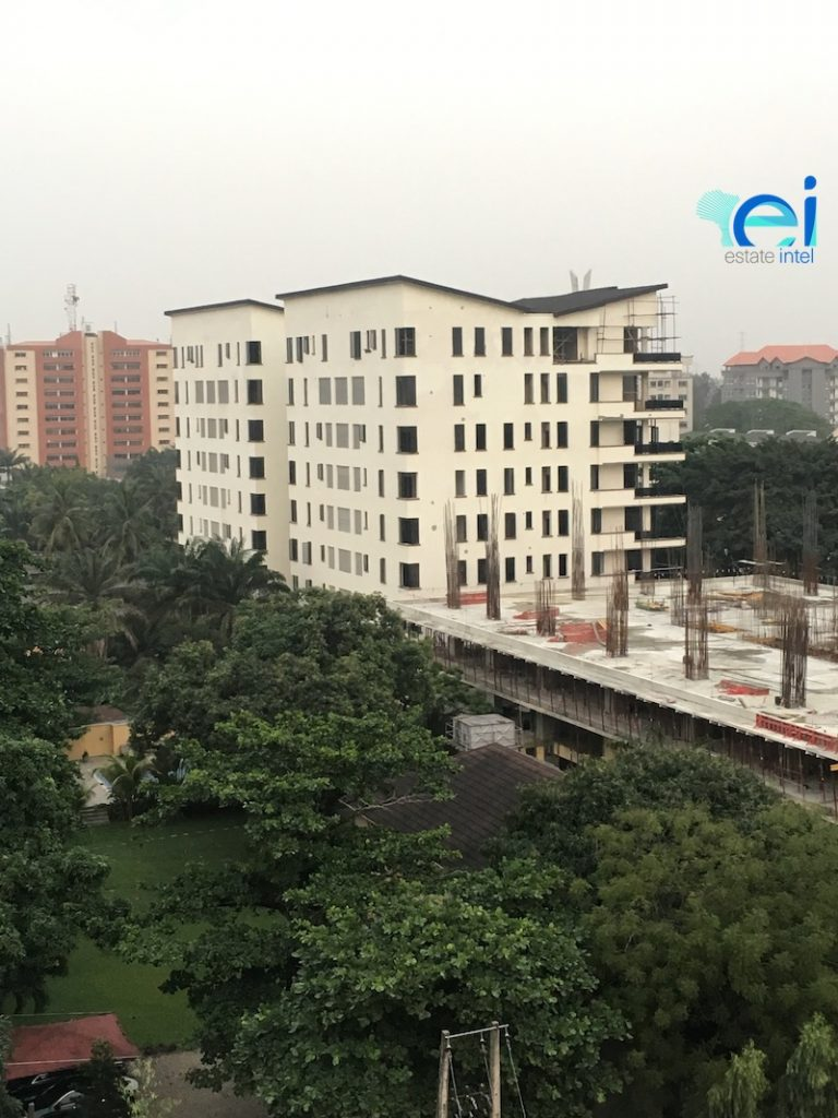 December 2017. Development: Oakwood Residences, Cooper/Femi Okunnu Road, Ikoyi - Lagos