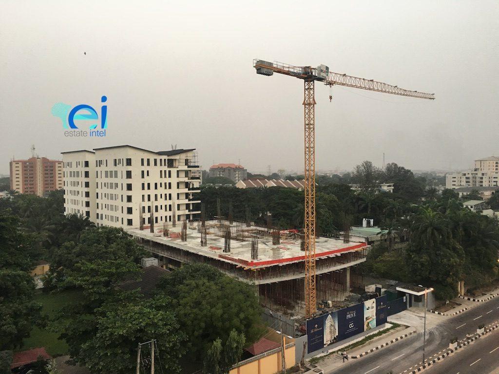December 2017. Development: The Belmonte PRIVE, 40 Bourdillon Road, Ikoyi - Lagos