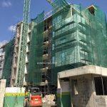 April 2018. Development: Onikoyi/Turnbull Residential Development, Turnbull Road, Ikoyi - Lagos