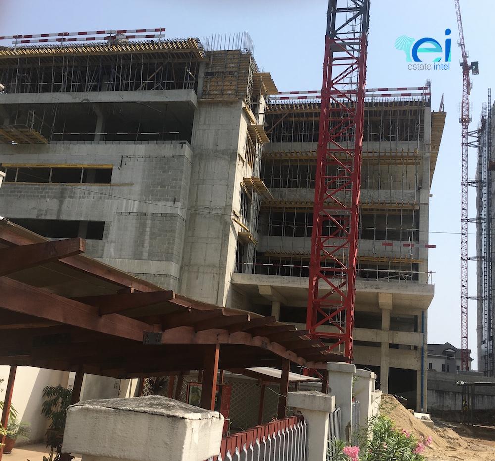 October 2017. Development: 6 Floor Office Development for Access Bank, Oniru - Lagos