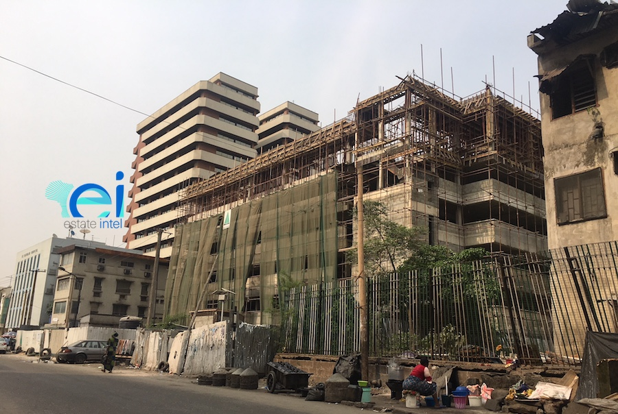 January 2018. Development: Campbell Multi-Storey Car Park and Event Centre, Lagos Island - Lagos