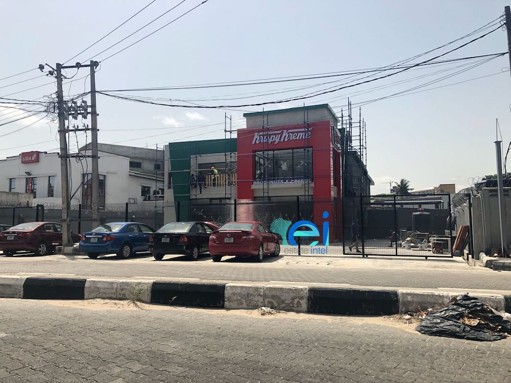 April 2018. Krispy Kreme Opening on Bishop Aboyade Cole Street, Victoria Island Soon