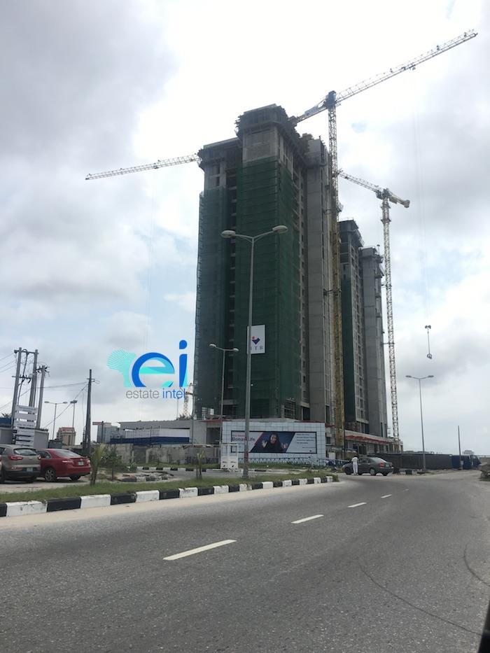 September 2017. Development: KBR Residences/Total Residence Development, Corner of Adetokunbo Ademola Street and Ahmadu Bello Way, Victoria Island, Lagos - Nigeria