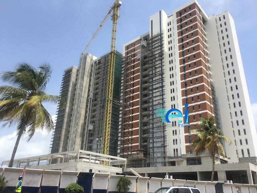 April 2018. Development: KBR Residences/Total Residence Development, Corner of Adetokunbo Ademola Street and Ahmadu Bello Way, Victoria Island, Lagos - Nigeria