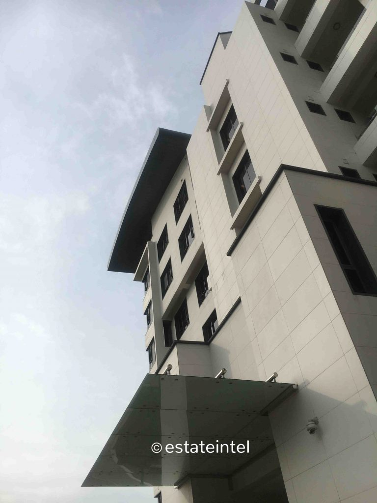 October 2018. Updated - Development: Seattle Court, Victoria Island - Lagos